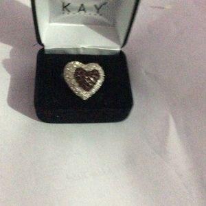 Large hart ring